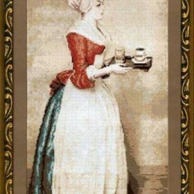 Шоколадница лиотар схема вышивки 9